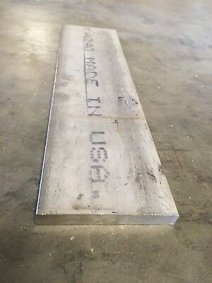 "1/2"" x 4"" x 15.5"" 316 Stainless Steel Flat Bar"