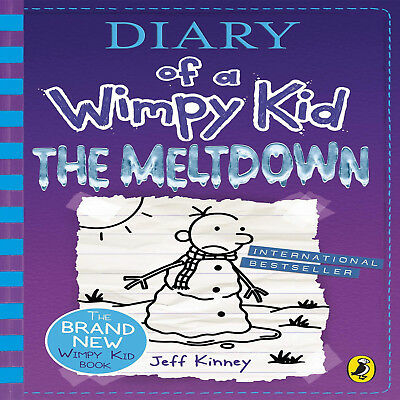 Diary of a Wimpy Kid The Meltdown Book 13 Diary of a Wimpy Kid 13 Hardcover Fun