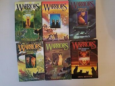 Warriors Lot of 6 by Erin Hunter Complete