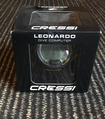 Cressi LEONARDO Tauchcomputer black yellow