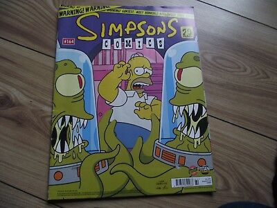 simpsons comic no 164