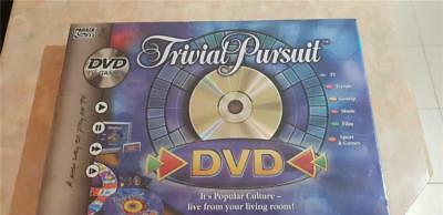 Trivial Pursuit DVD Board game NEW and sealed
