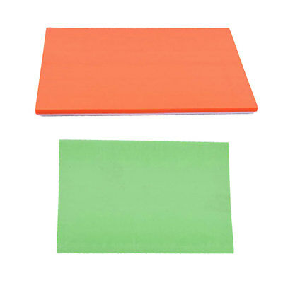 2x Candy Color Rubber Carving Blocks DIY Stamp for Carving Tools 15x10x0.6cm