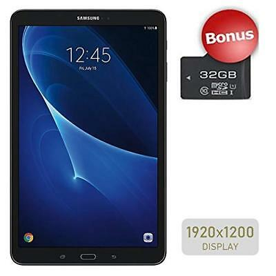 Samsung Galaxy SM-T580  Tab A 10.1'' Touchscreen Tablet Plus 32GB Micro SD Card