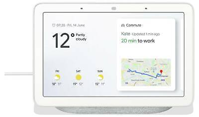 Google Home Hub with Google Assistant - Chalk - Smart Home Voice Assistant