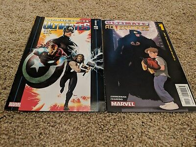 Marvel Comics The Ultimates  Ultimate Adventures Thor Iron Man Captain America