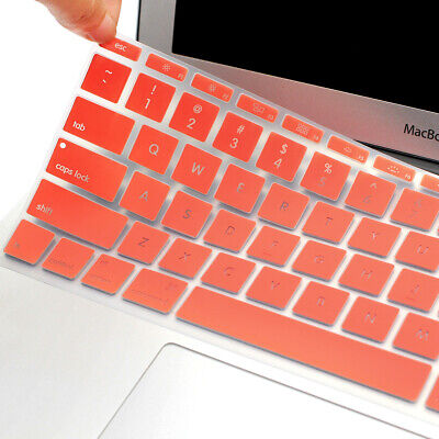 "Silicone Keyboard Cover Keypad Skin for Macbook Air 11"" A1370 A1465 Colorful"