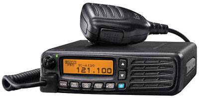 Icom IC-A120 Air Band VHF Transceiver / With Base Station FREE SHIPPING