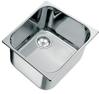 Sink, Caravan, Boat, RV Mirror Polished Stainless Steel 316g Sink.