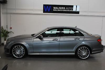 Mercedes-Benz C63 AMG 6.3 7G-Tronic V8 Saloon, Palladium Silver, Beige Leather