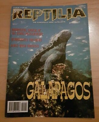 Reptilia Magazine Number 4 Galapagos  Very Good Condition