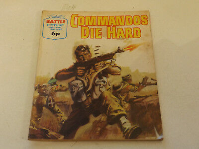 BATTLE PICTURE LIBRARY NO 546,dated 1971 !,GOOD FOR AGE,VERY RARE,47 yrs old.