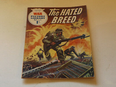 WAR PICTURE LIBRARY NO 324!,dated 1966!,GOOD for age,great 52!YEAR OLD issue.