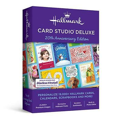 EXCLUSIVE: New Hallmark Card Studio Deluxe 2019 W/ Bonus Software & Gift Cards