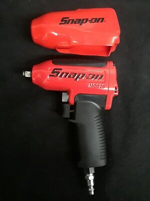 """Snap-on MG325 Air / Pneumatic 3/8"""" Drive Impact Wrench w/ Cover"""