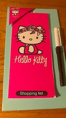 Hello Kitty Magnetic Shopping List BNWT