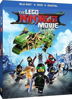 The LEGO NINJAGO Movie (Blu-ray Disc, 2017, 2-Disc Set, Slipcover) Brand New