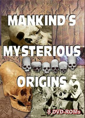 15% off! Mankind's Mysterious origins - 8 DVD-ROM boxed