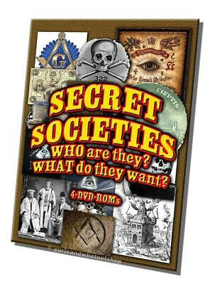 15% off! Secret Societies  4 DVD-ROMs boxed