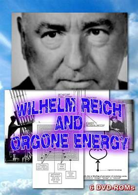 15% off! Wilhelm Reich and the secrets of Orgone - 6 DVD-ROM boxed disk set