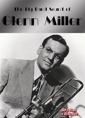 15% off! The Big Band Sound of Glenn Miller - mp3 on 3 DVD-ROMs boxed