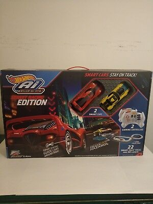 hot wheels ai street racing edition starter track set multicolor