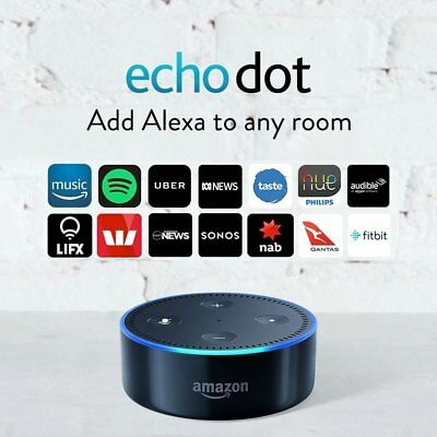 Amazon Echo Dot Alexa Smart Assistant Speaker (2nd Generation) - Black