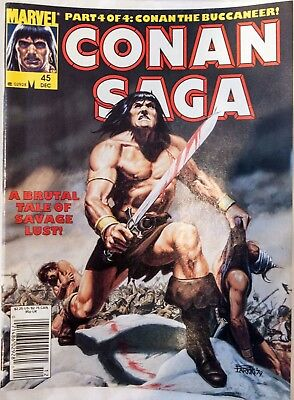 Conan Saga #45 Dec 1990 Marvel Comics