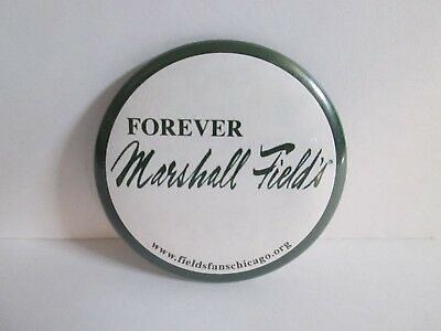 """Forever Marshall Field's Button 2 1/4"""", Department Store Chicago Illinois"""