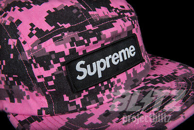 5d610c79 SUPREME NYCO TWILL Digi Camo Camp Cap Pink Fw17 2017 Hat - $118.88 ...