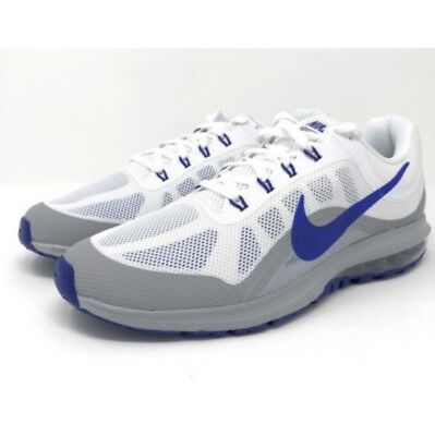 46bec980e7a Nike Air Max Dynasty 2 White Blue Grey 852430-104 Running Mens Shoe Multi  Size