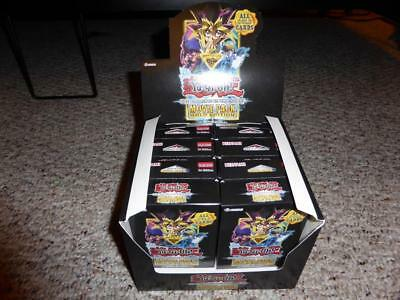 8 X YUGIOH DARK SIDE OF DIMENSIONS MOVIE PACK GOLD 1ST ED SE BOX,authentic,rare