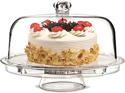 Rammento Multifunctional 5 in 1 Cake Stand and Dome. Wedding Cake Dome