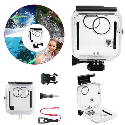 Underwater Waterproof Diving Cover Housing Case For GoPro Fusion 360° Camera 45M