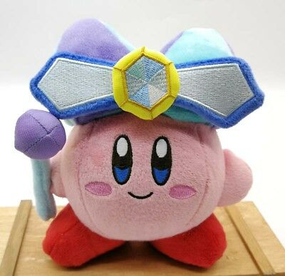 """Kirby Mirror 2 All Star Collection Plush 6"""" Kirby's Adventure Little Buddy DOLL"""