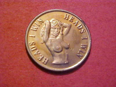 Adult Token Heads I Win Tails You Lose  Ef Condition 25 Mm Wm # E-1-X