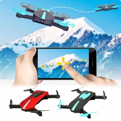 RC Quadcopter Drone Altitude Hold HD Camera WIFI FPV Selfie Foldable JY018 LOT