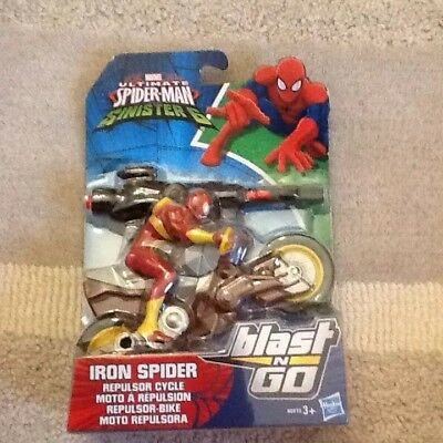 Marvel ultimate spiderman web warriors blast N go SPIDERMAN QUAD
