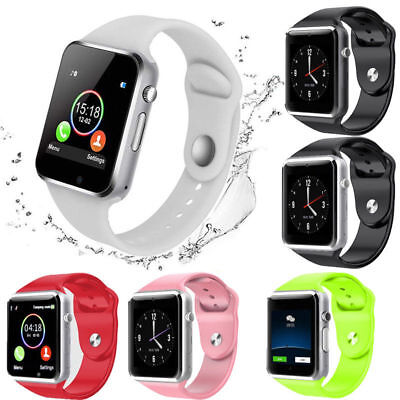 Men Bluetooth Smart Wrist Watch A1 GSM Phone For Android Samsung iPhone Women