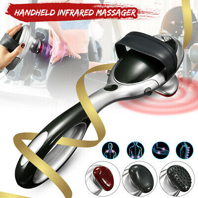 Electric Infrared Heat Massager Handheld Percussion Machine Wand Full Body