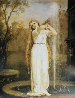 Lady in Fountain, by John William Waterhouse