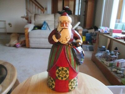 Jim Shore S4017655 Ts The Season To Make Memories Santa Figure