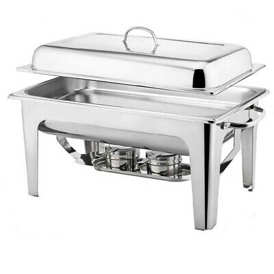SOGA Stainless Steel 9L Chafing Dish Dinner Serving Buffet Food Warmer