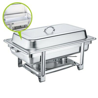 SOGA 9L Stainless Steel Chafing Dish Dinner Serving Buffet Food Warmer