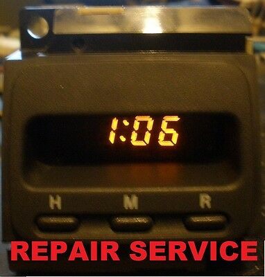 Honda Crv Cr-V Digital Clock Repair Service Lifetime Warranty Rebuild 97-01