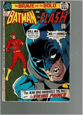 Brave and the Bold 99  Batman The Flash Adams cover 48 ps F/VF