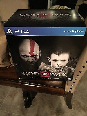 God Of War (2018) Collectors Edition PS4 (Playstation 4) - FREE SHIPPING - NEW