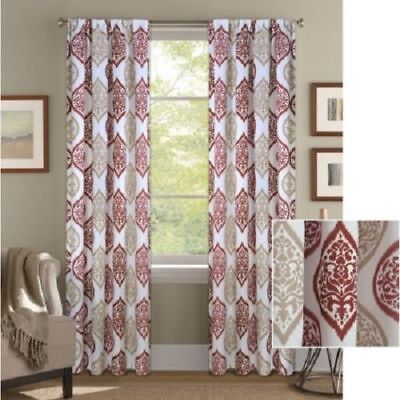 Better Homes And Gardens BHG Damask Curtains