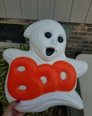 Halloween Boo Ghost Blowmold