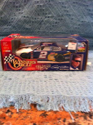 New 1998 Hasbro Winner's Circle Rusty Wallace And Elvis Tcb Stock Car 1:24 Scale